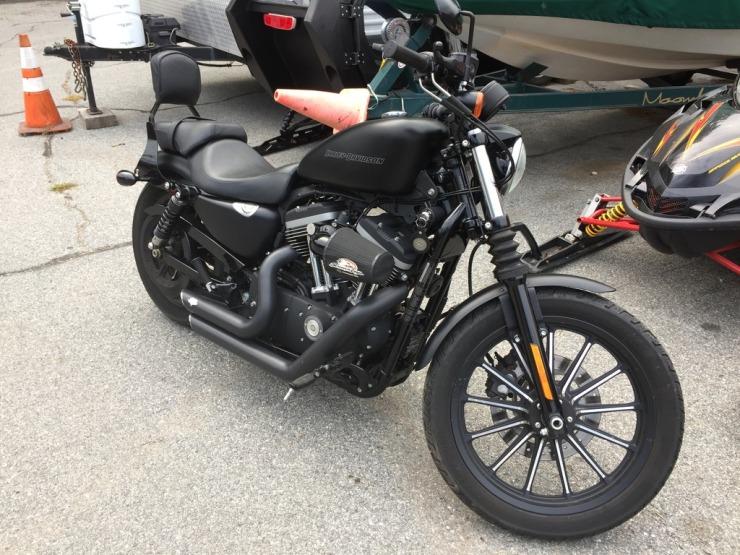 2010 Harley Davidson sportster iron 883