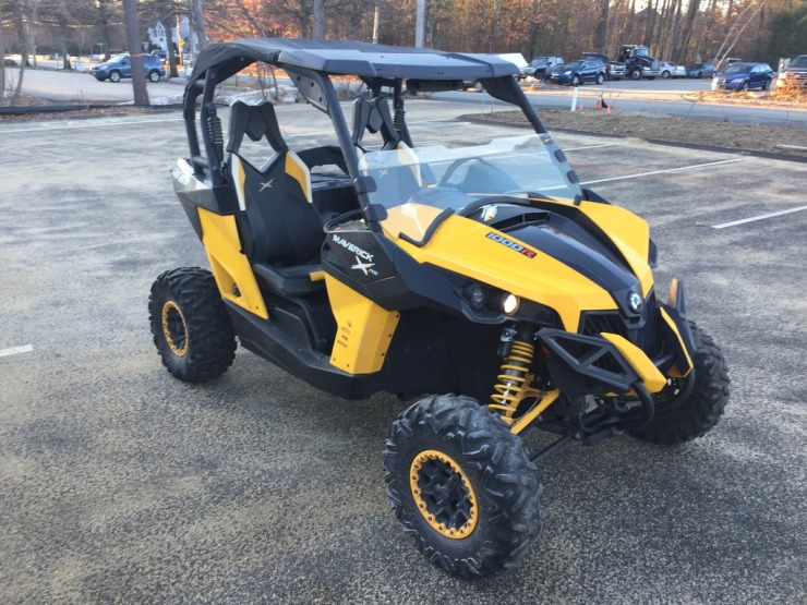 2013 can-am canam maverick